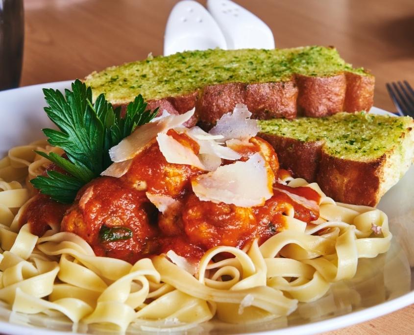 Pasta at The Dornoch Coach House